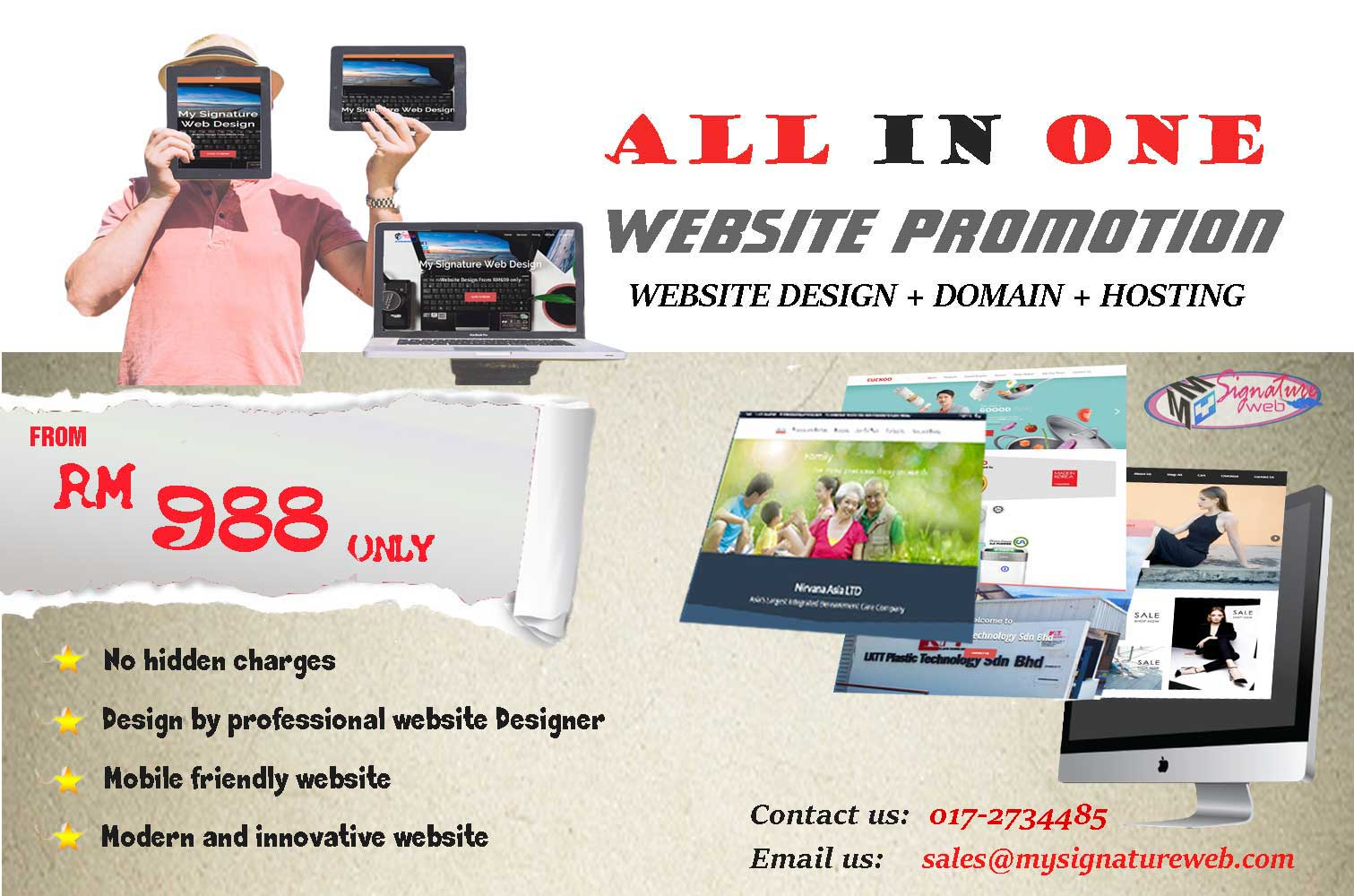 Malaysia Website Promotion